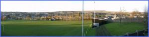 The Rugby Pitch in Brynmawr